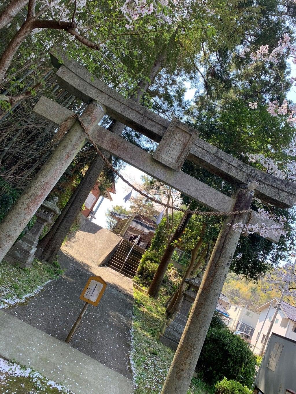 机崎神社の鳥居
