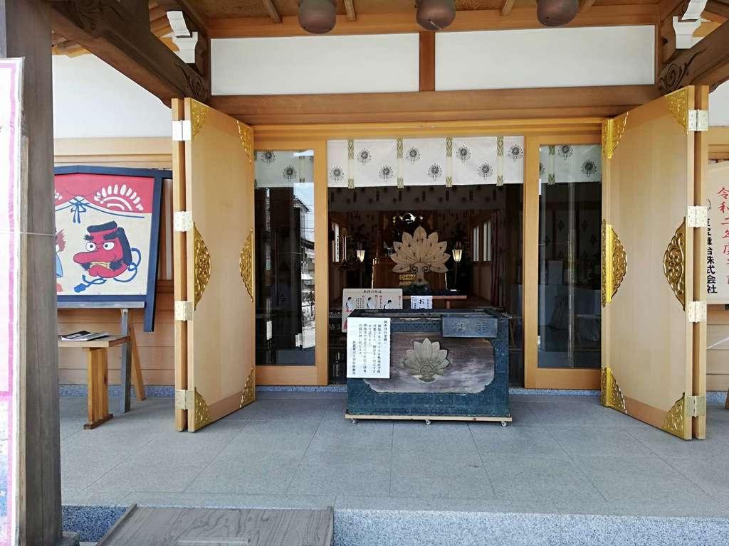 武蔵第六天神社の本殿