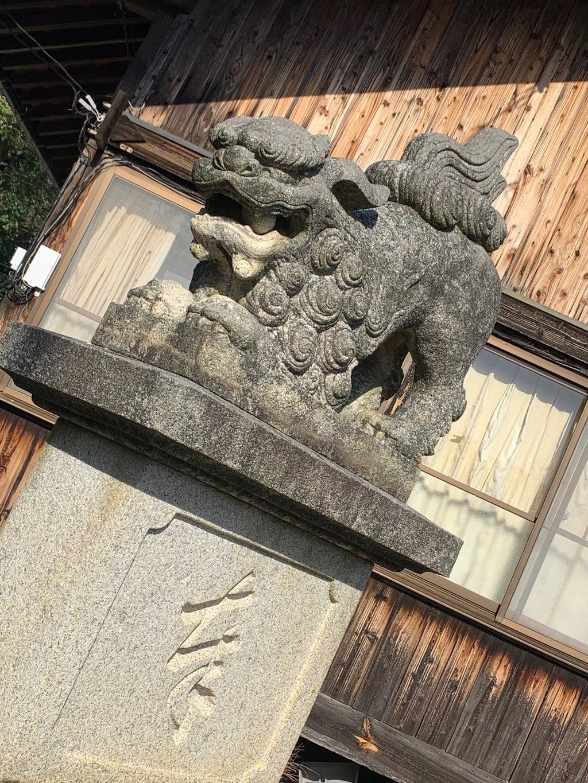 櫛代賀姫神社の狛犬