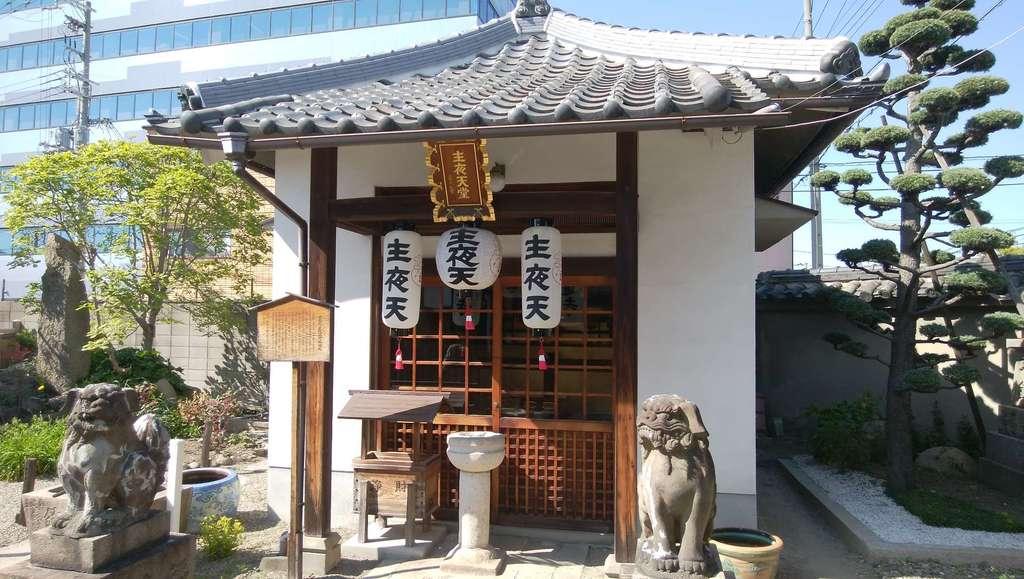 成道寺の本殿