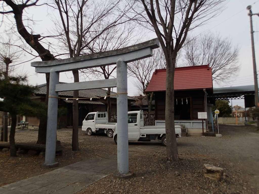 皇大神社の鳥居