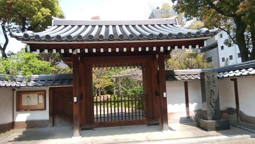 月江寺の山門