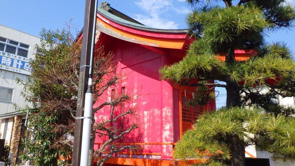 篠葉沢稲荷神社の本殿