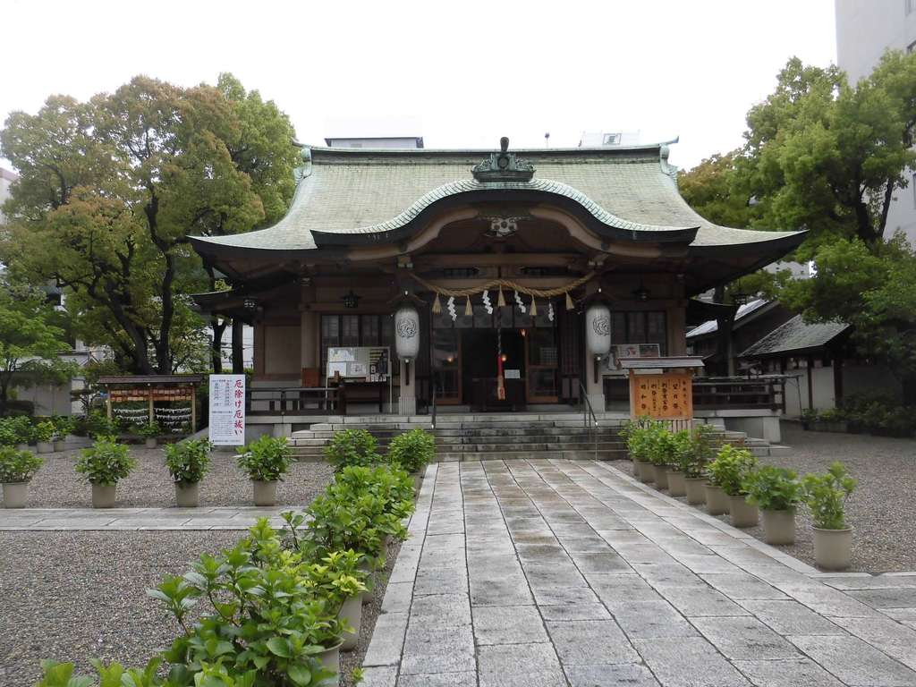 坐摩神社の本殿