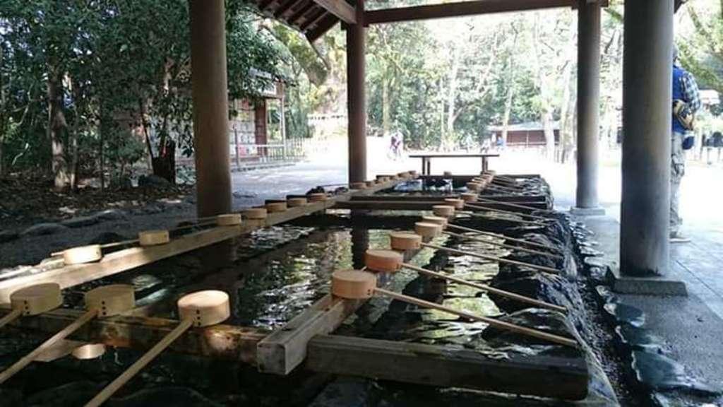 熱田神宮の手水