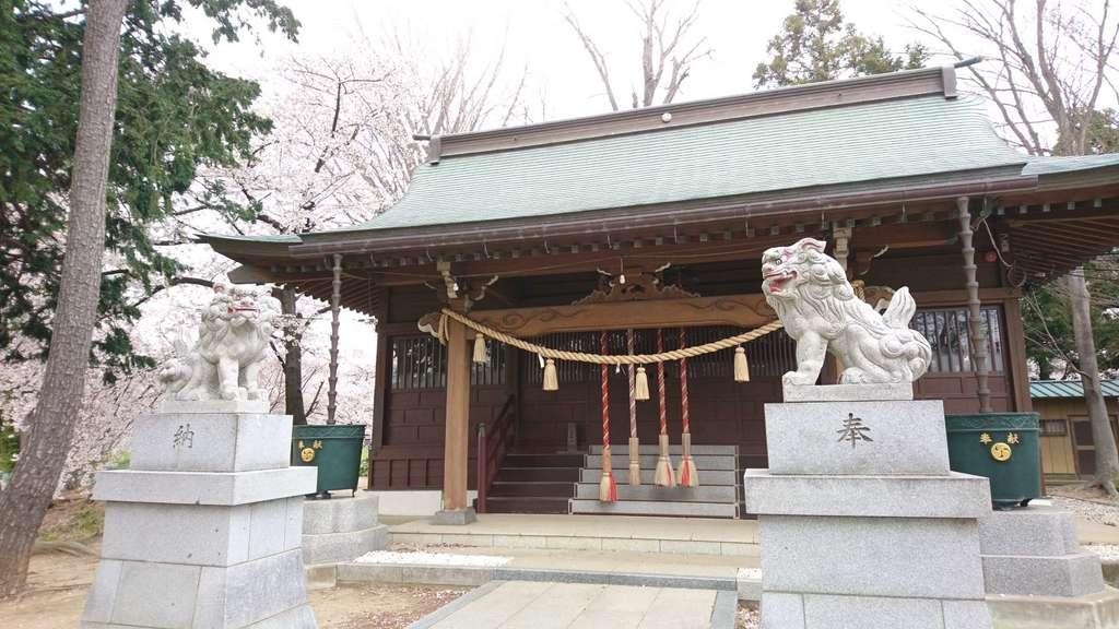 旭神社の本殿