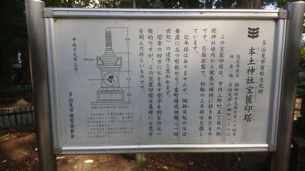 本土神社の歴史