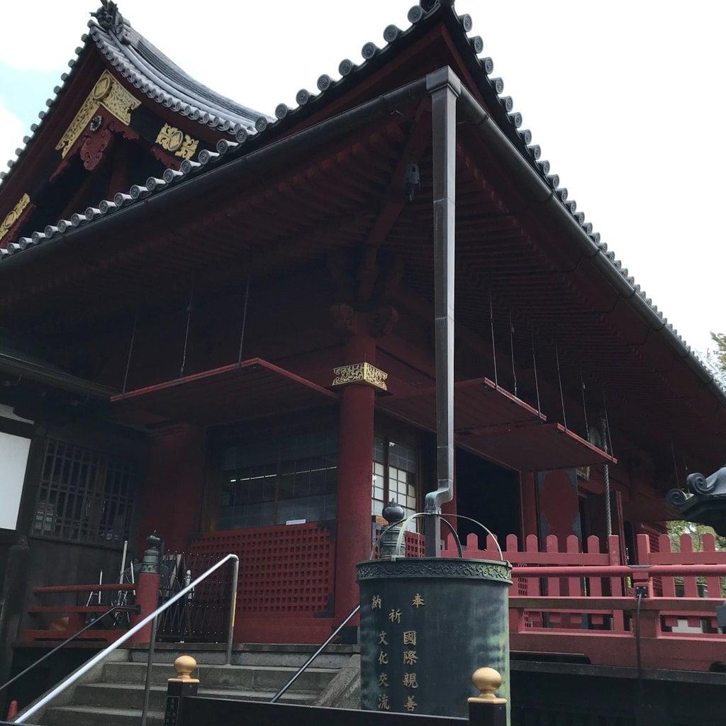 清水観音堂の本殿