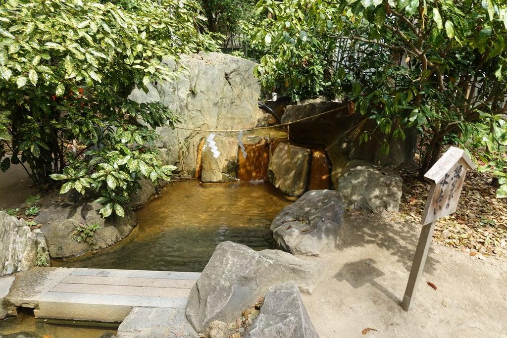 生田神社の庭園