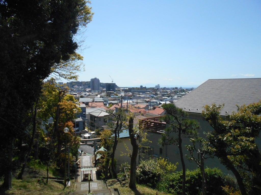 片瀬諏訪神社の景色
