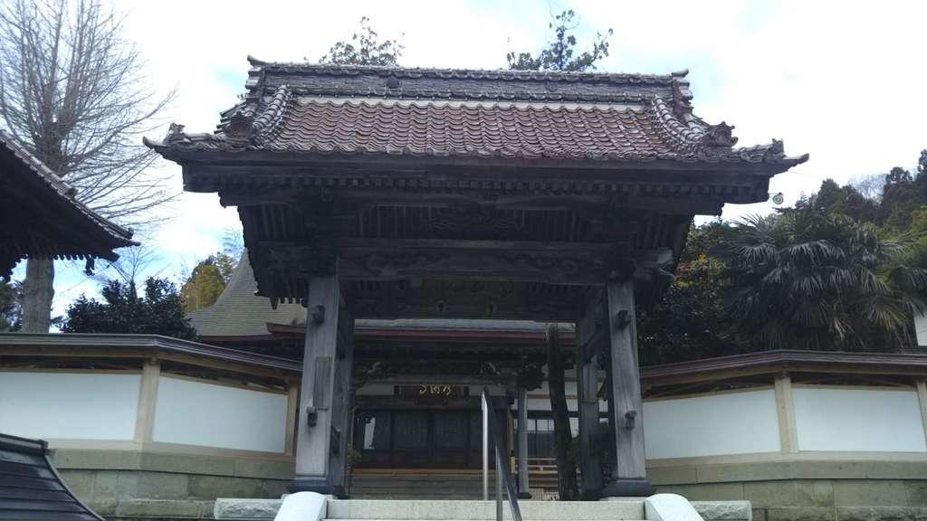 常円寺の山門