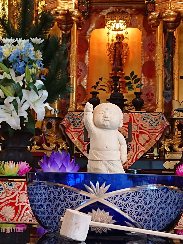 教西寺の仏像