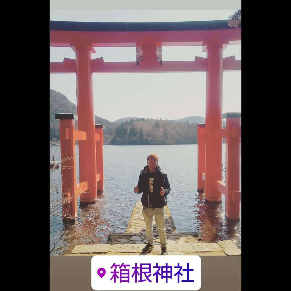 箱根神社の鳥居