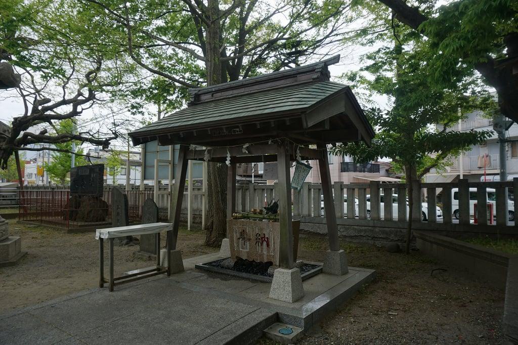 豊受神社の手水