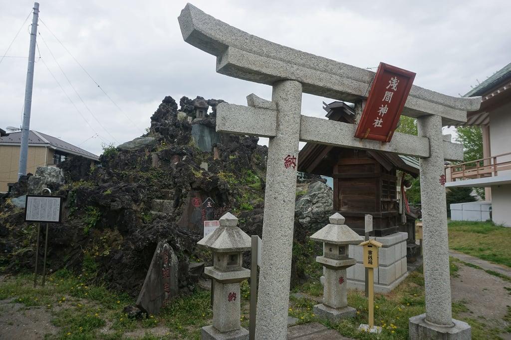 豊受神社の鳥居