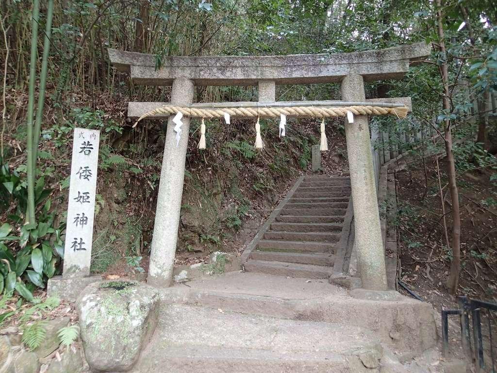 若倭姫神社の鳥居