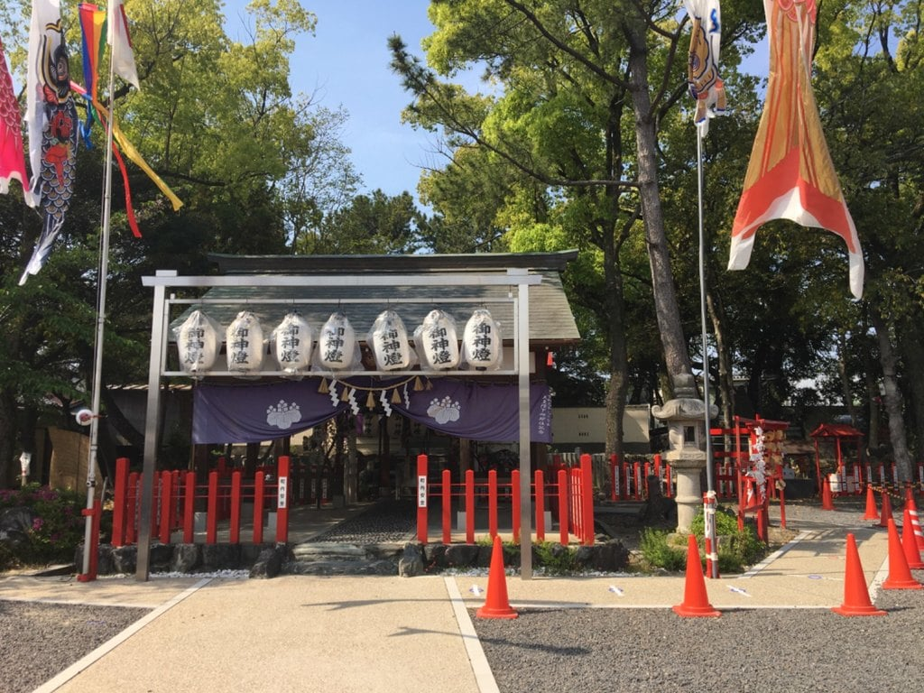 別小江神社の本殿