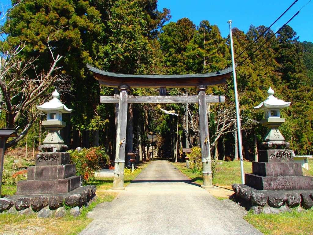 清瀬神社の鳥居
