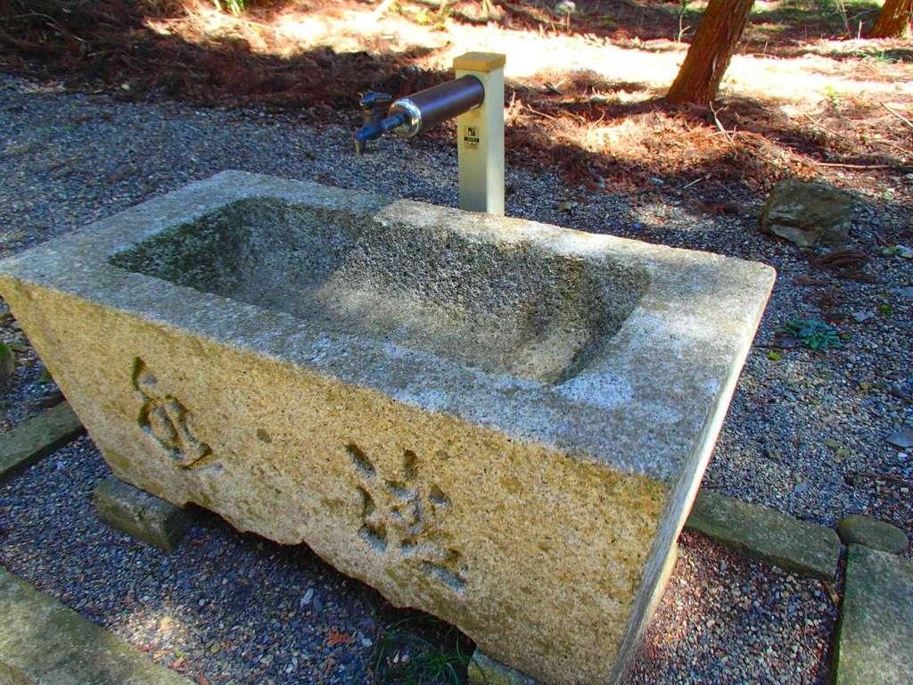 清瀬神社の手水