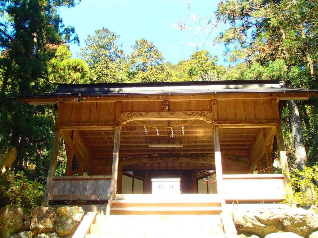 清瀬神社の本殿