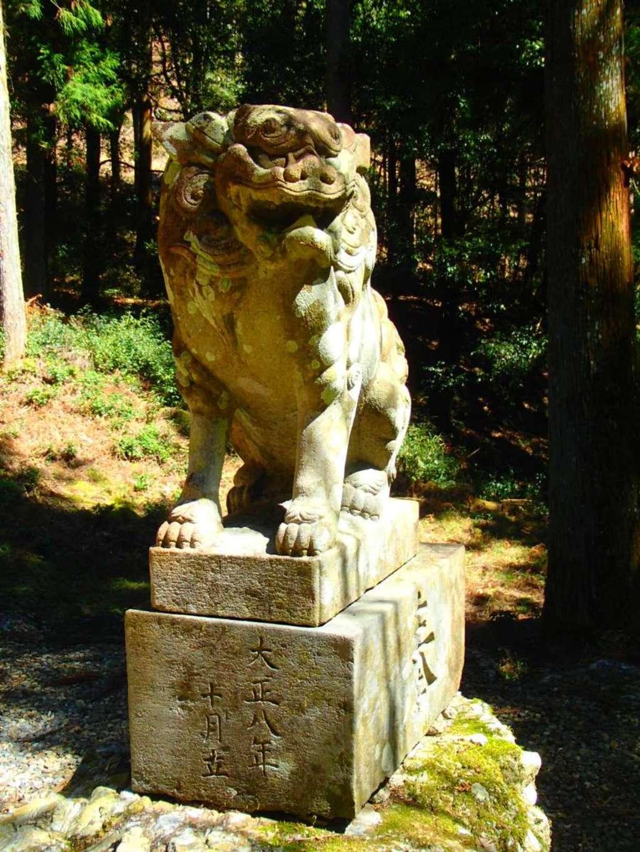 清瀬神社の狛犬