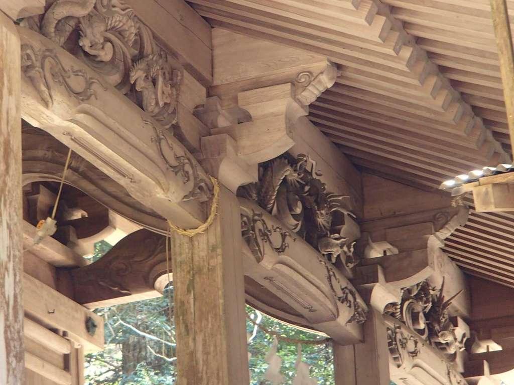 清瀬神社の芸術