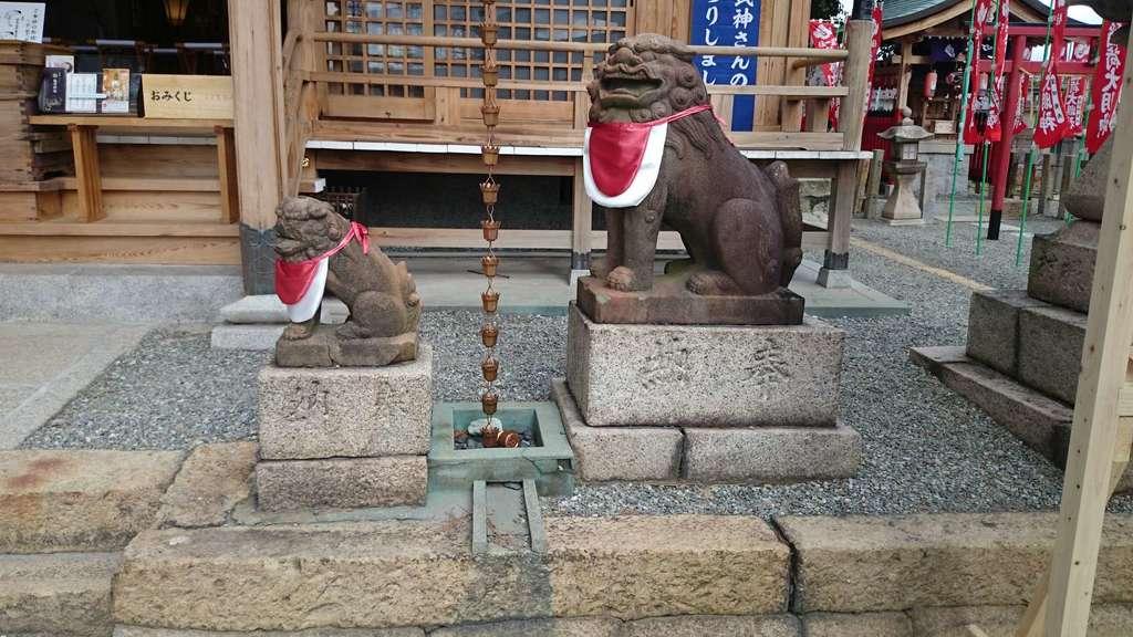 若宮住吉神社の狛犬