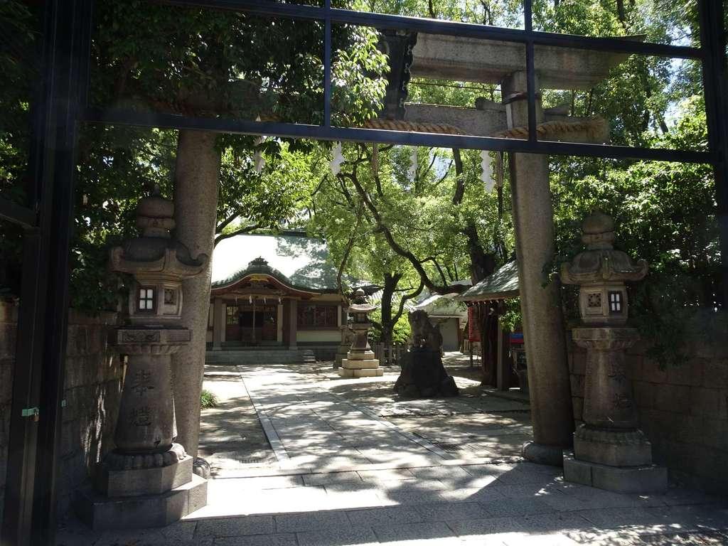 素盞烏尊神社の鳥居