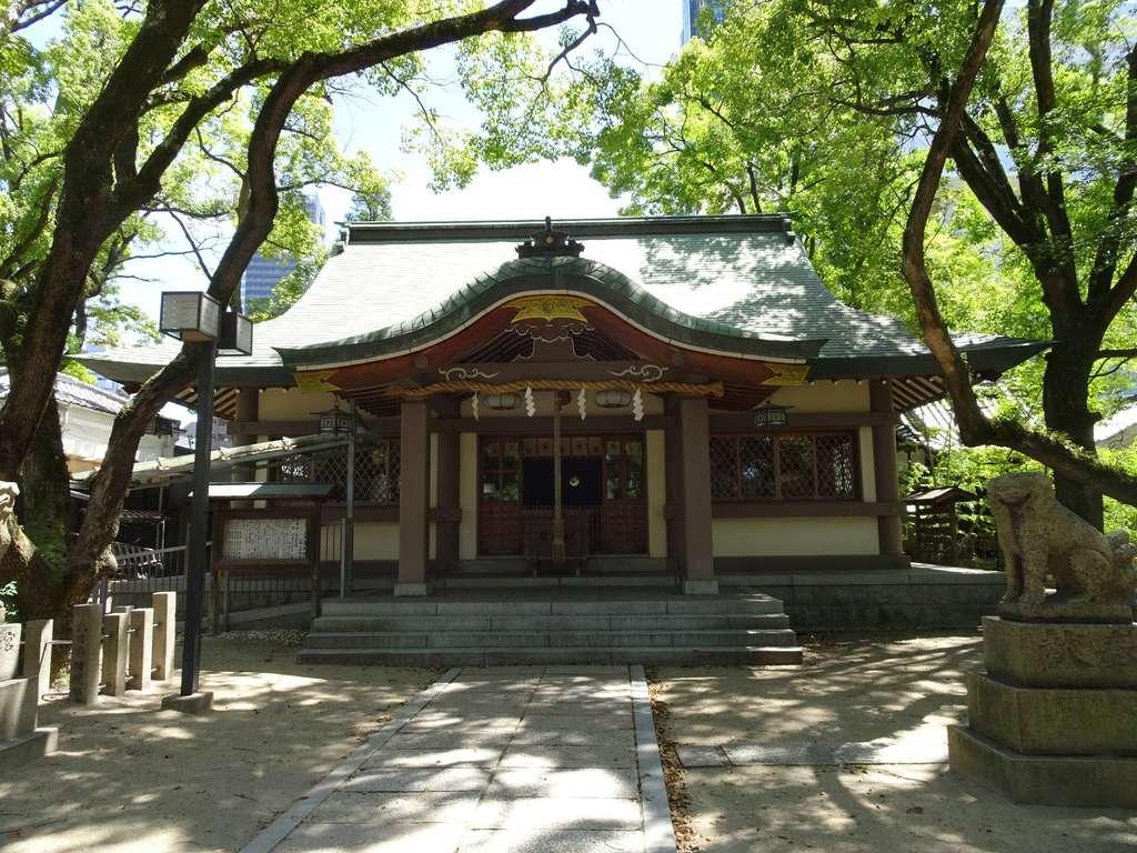 素盞烏尊神社の本殿