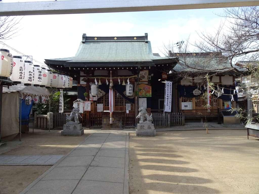 生野八坂神社の本殿