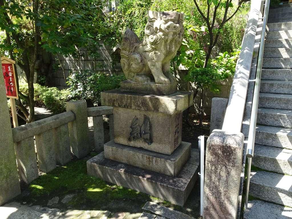 三光神社の狛犬