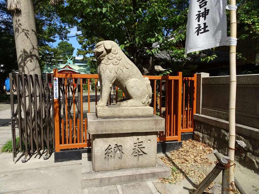 港住吉神社の狛犬
