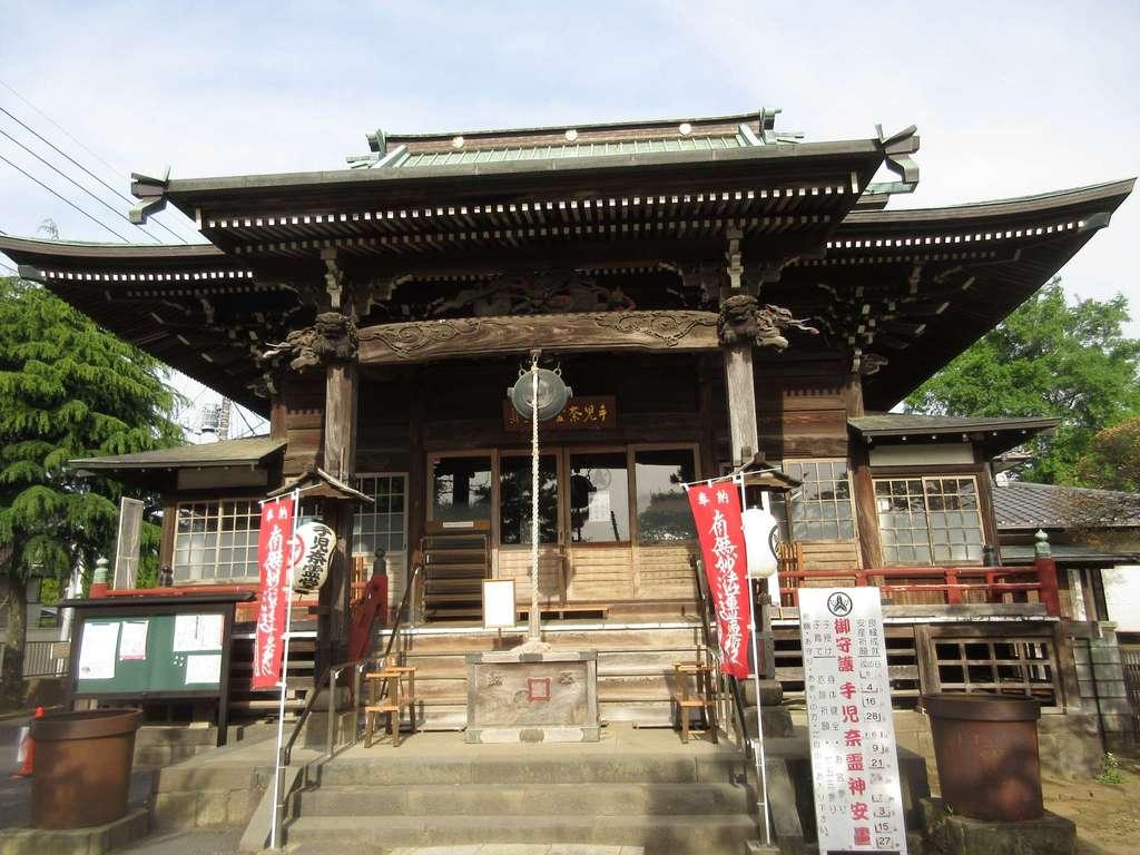 手児奈霊神堂の本殿