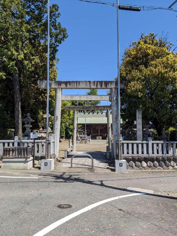 御井神社の鳥居