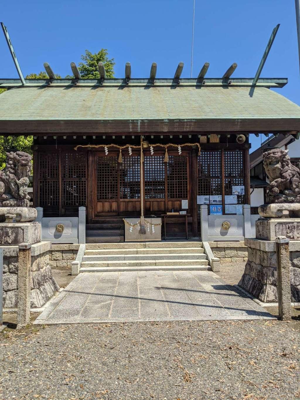 御井神社の本殿