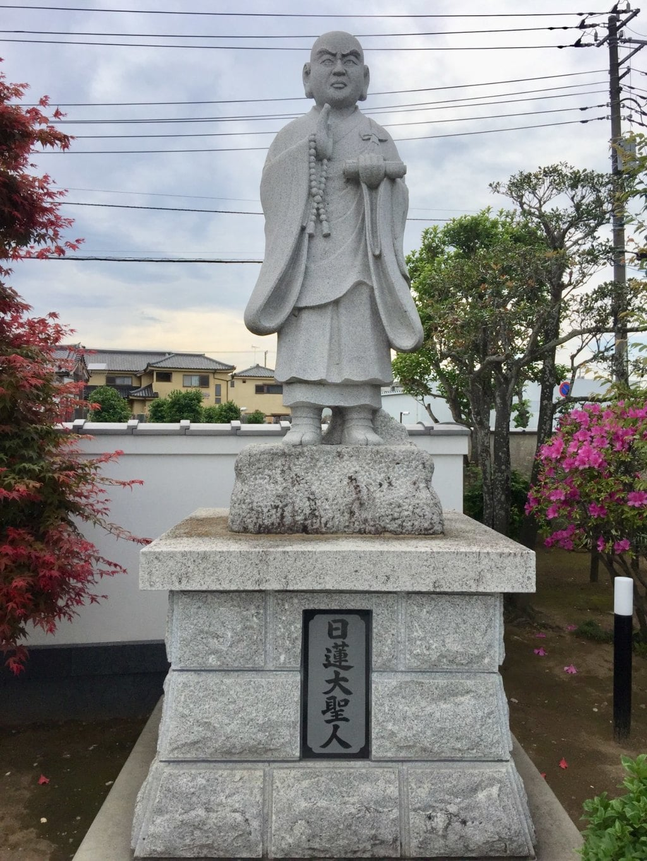 本城寺の像