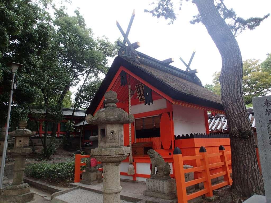 船玉神社(住吉大社摂社)の本殿