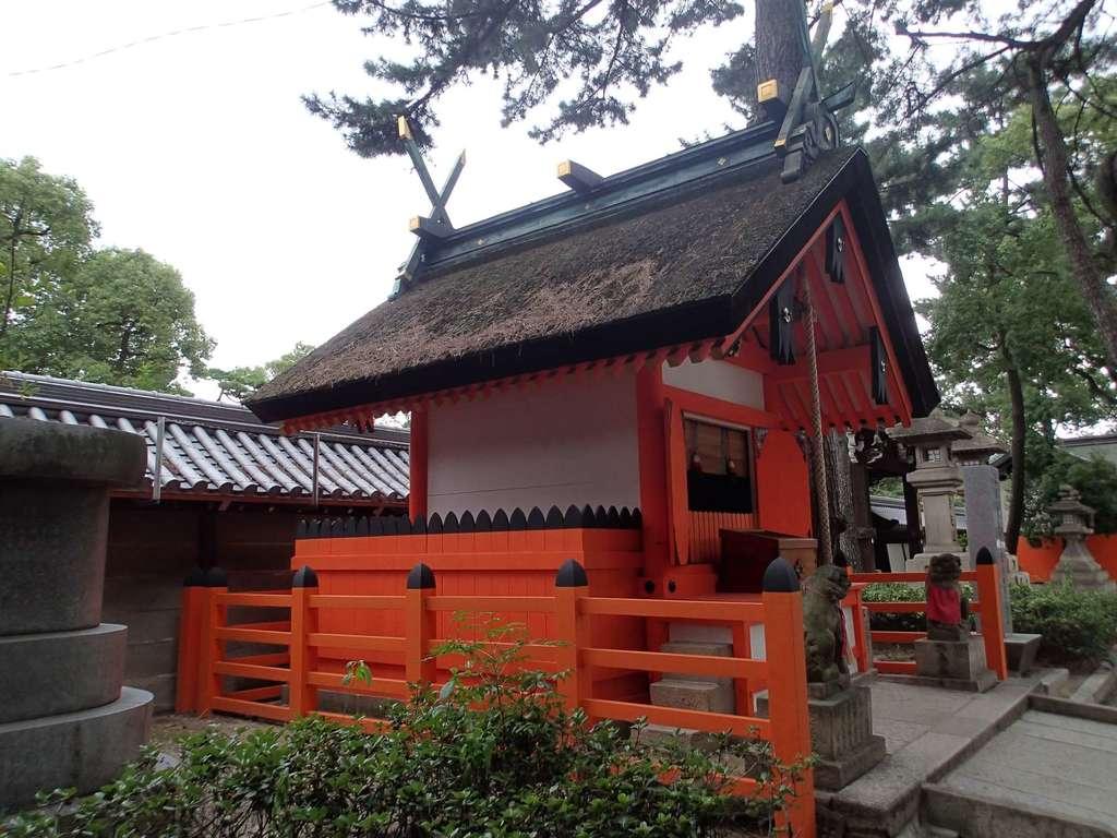 船玉神社(住吉大社摂社)の末社