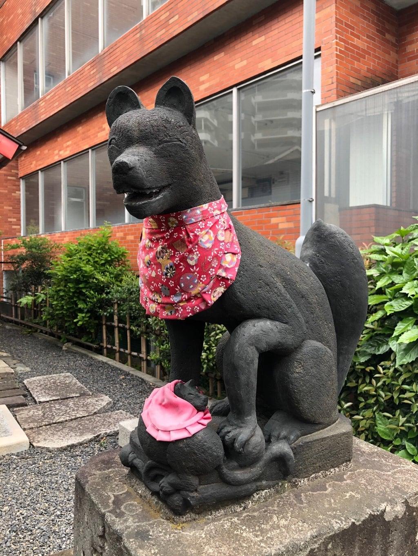 坂稲荷神社の狛犬
