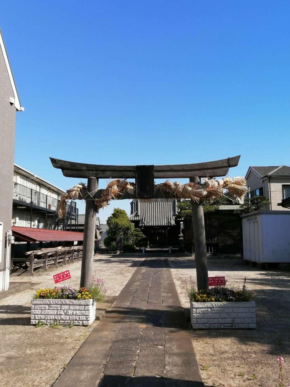 子之神社の鳥居
