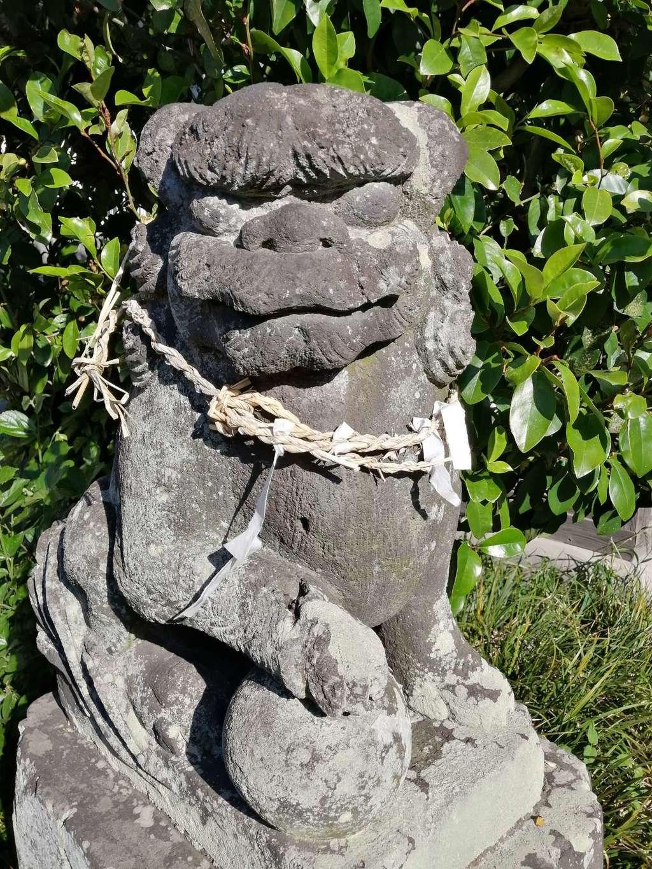 子之神社の狛犬