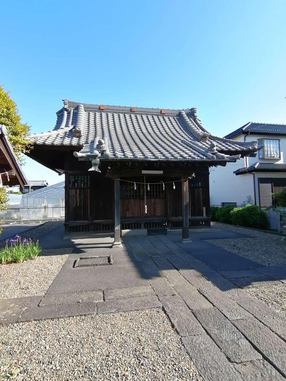 子之神社の本殿