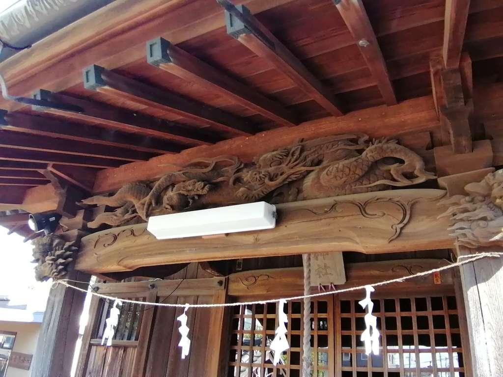 子之神社の芸術