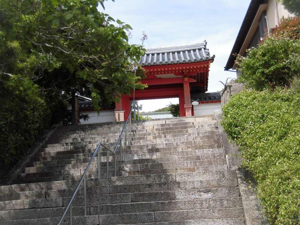 太山寺の山門