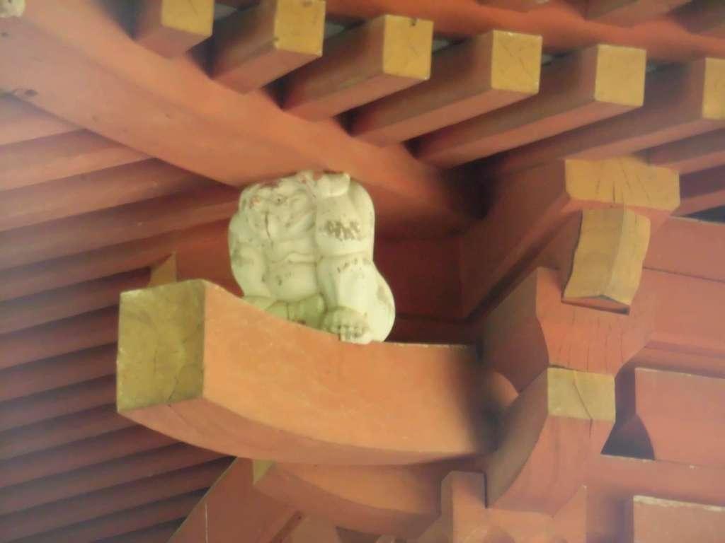 太山寺の狛犬