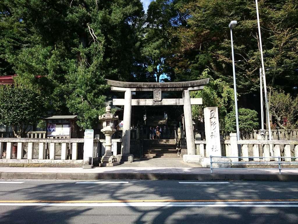 五所神社の鳥居
