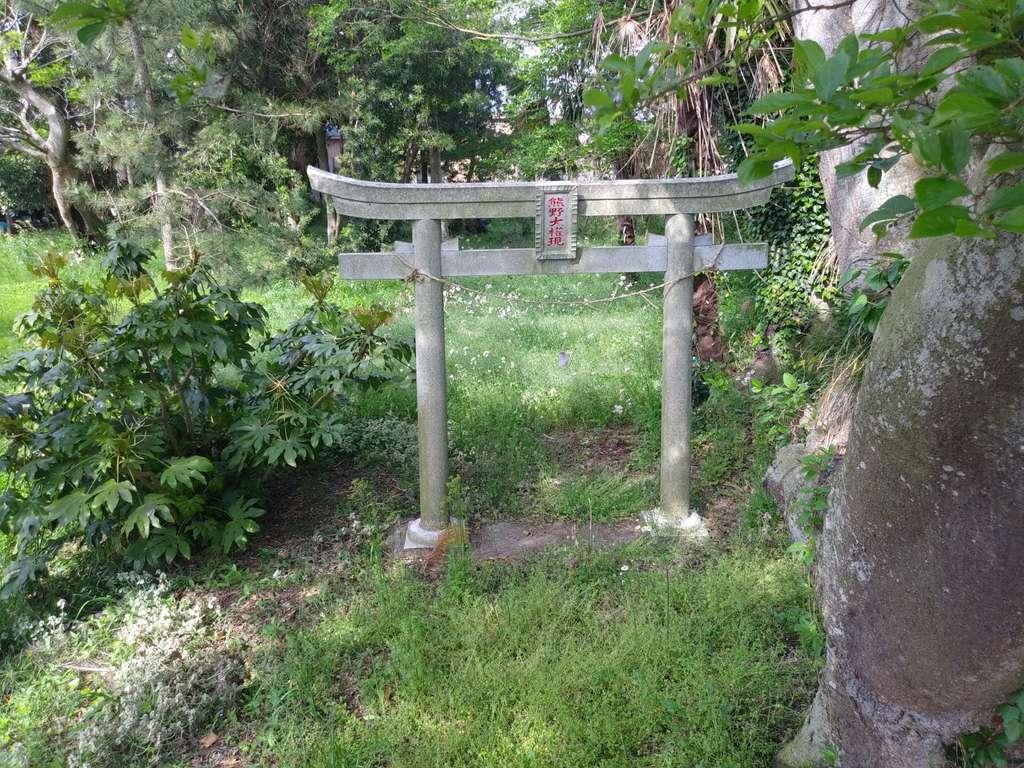 熊野大権現の鳥居