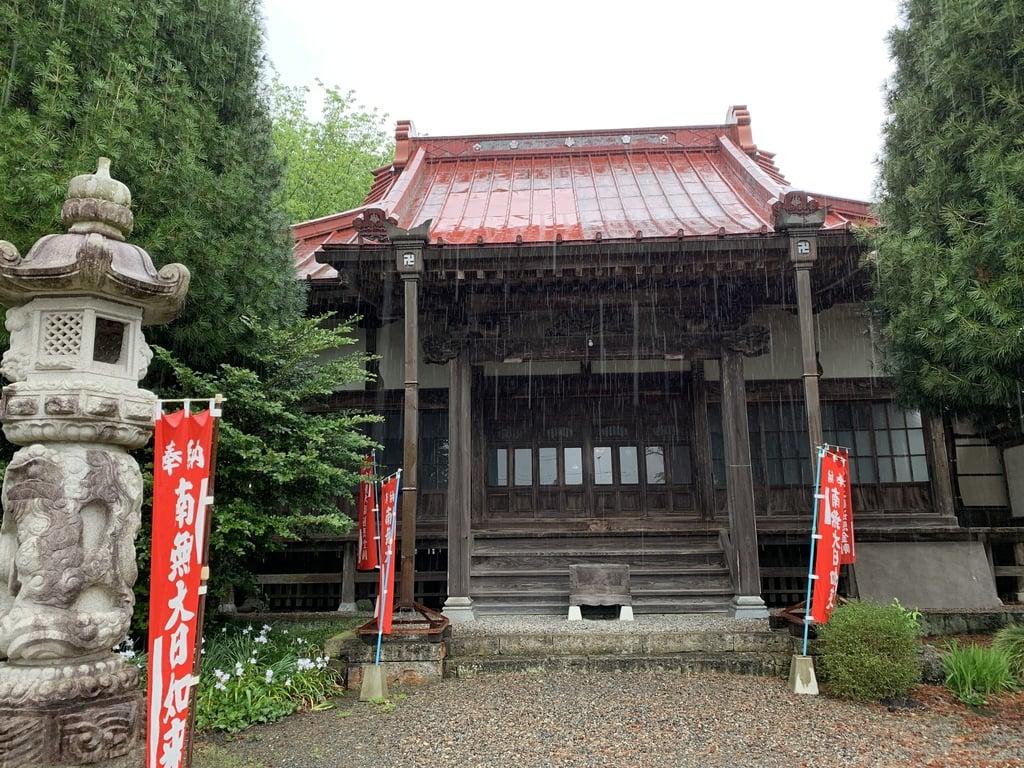 崇真寺(開運犬り切不動尊)の本殿