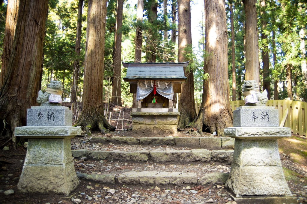 岩木山神社の末社