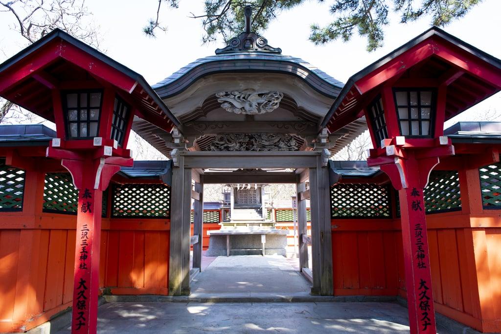 高山稲荷神社の山門